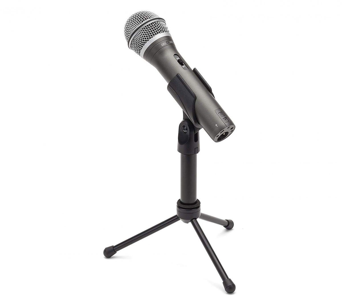 This Samson mic can use both USB and XLR cables.