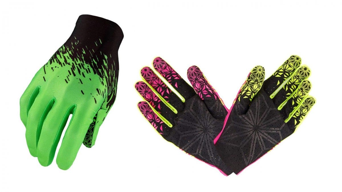 Supacaz SupaG Full Finger mountain bike gloves