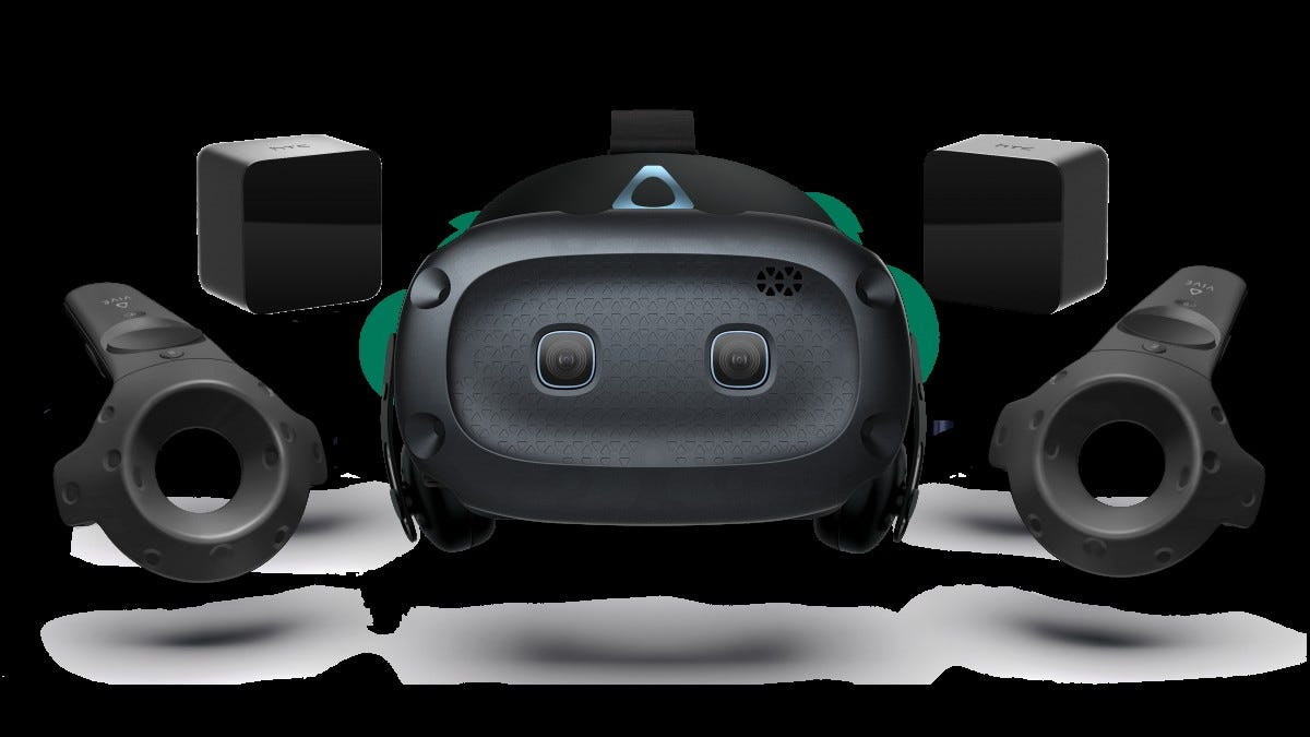 The VIVE Cosmos Elite package.