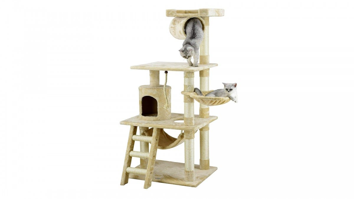 The Go Pet Club cat tower