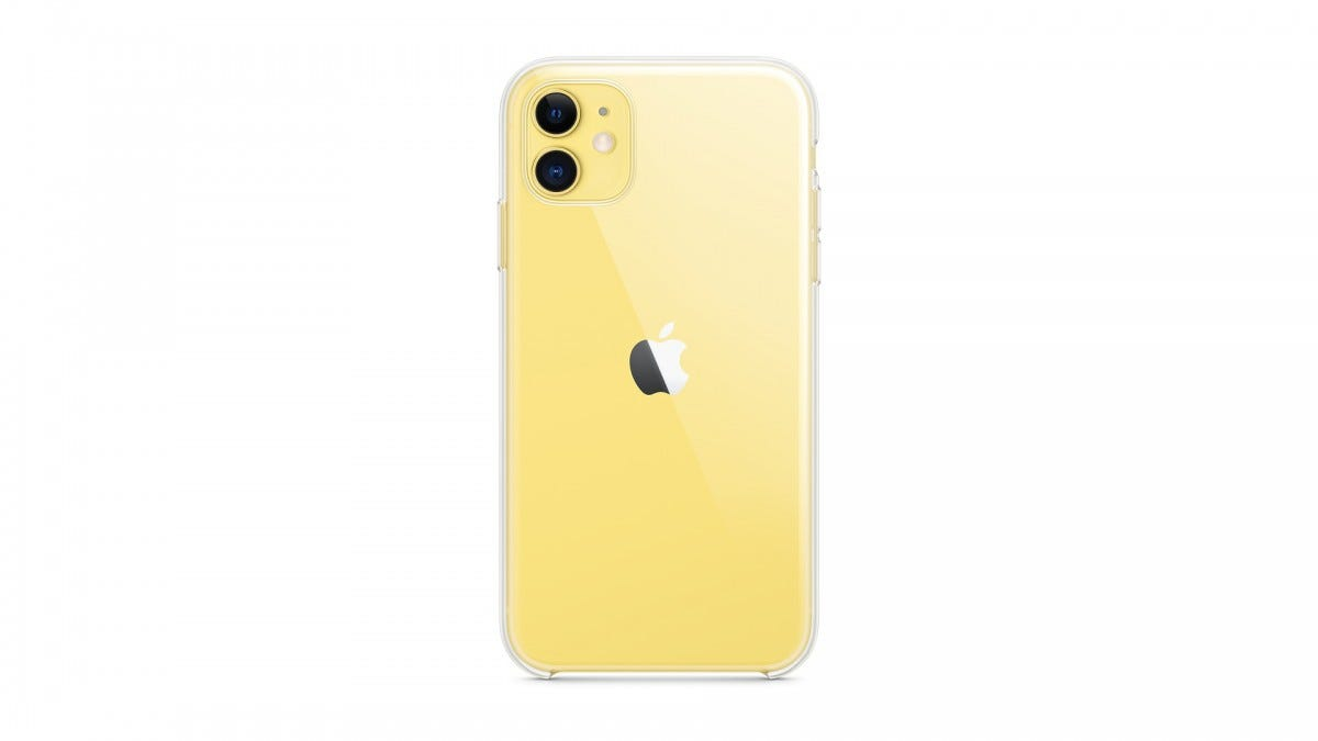 The official iPhone 11 clear case.