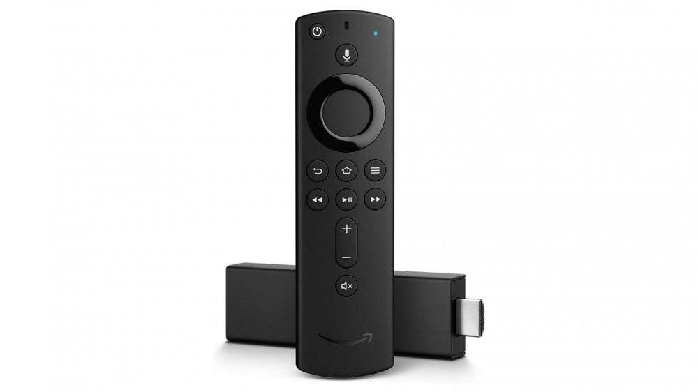 A photo of the Fire TV Stick 4K.