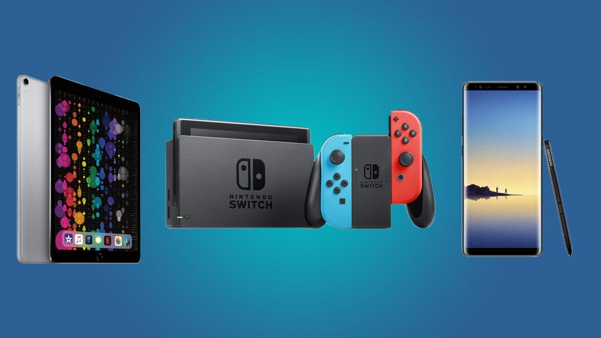 Daily Deals: Nintendo Switch Consoles and Games, the iPad