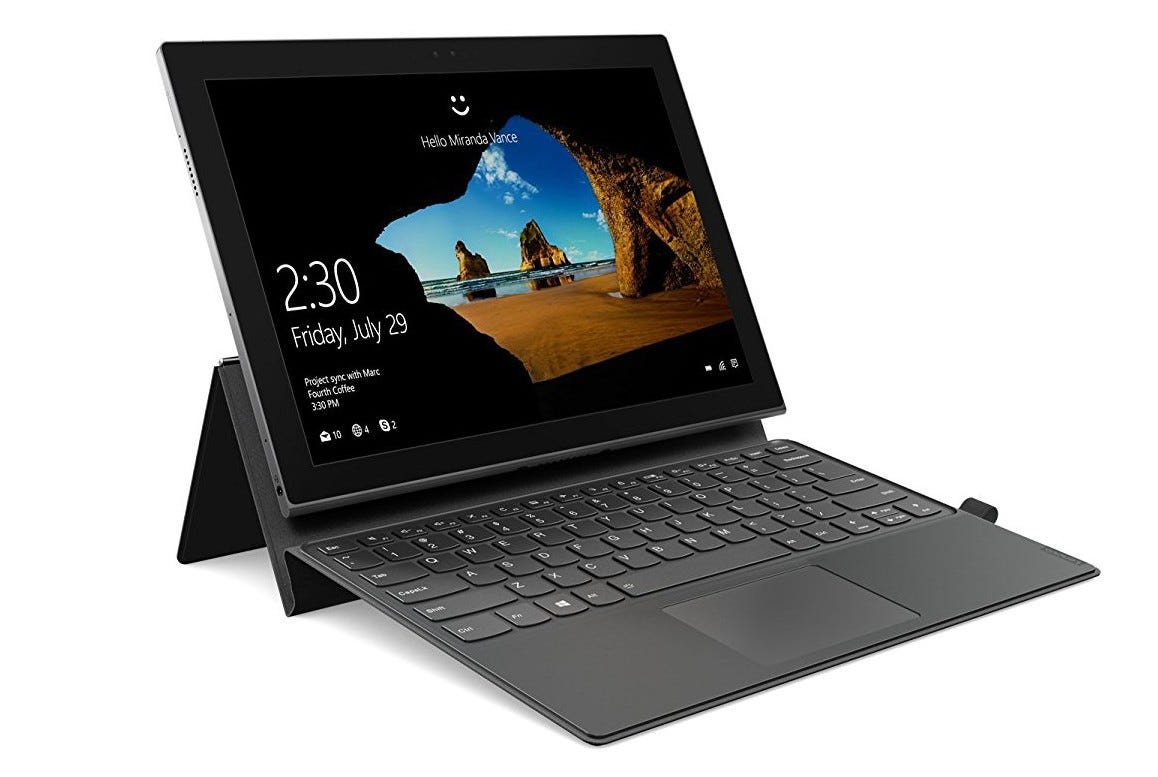 lenovo, miix, miix 630, tablet, surface pro, snapdragon, alternative, arm, battery life