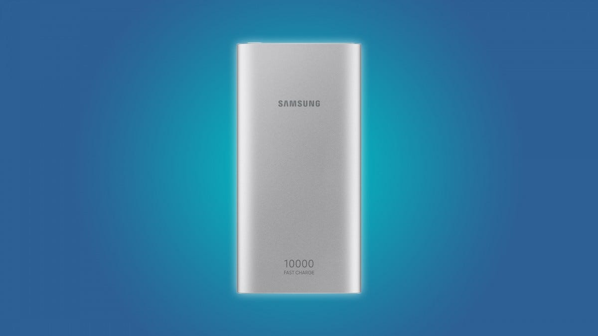 The Samsung 10,000 mAh power bank