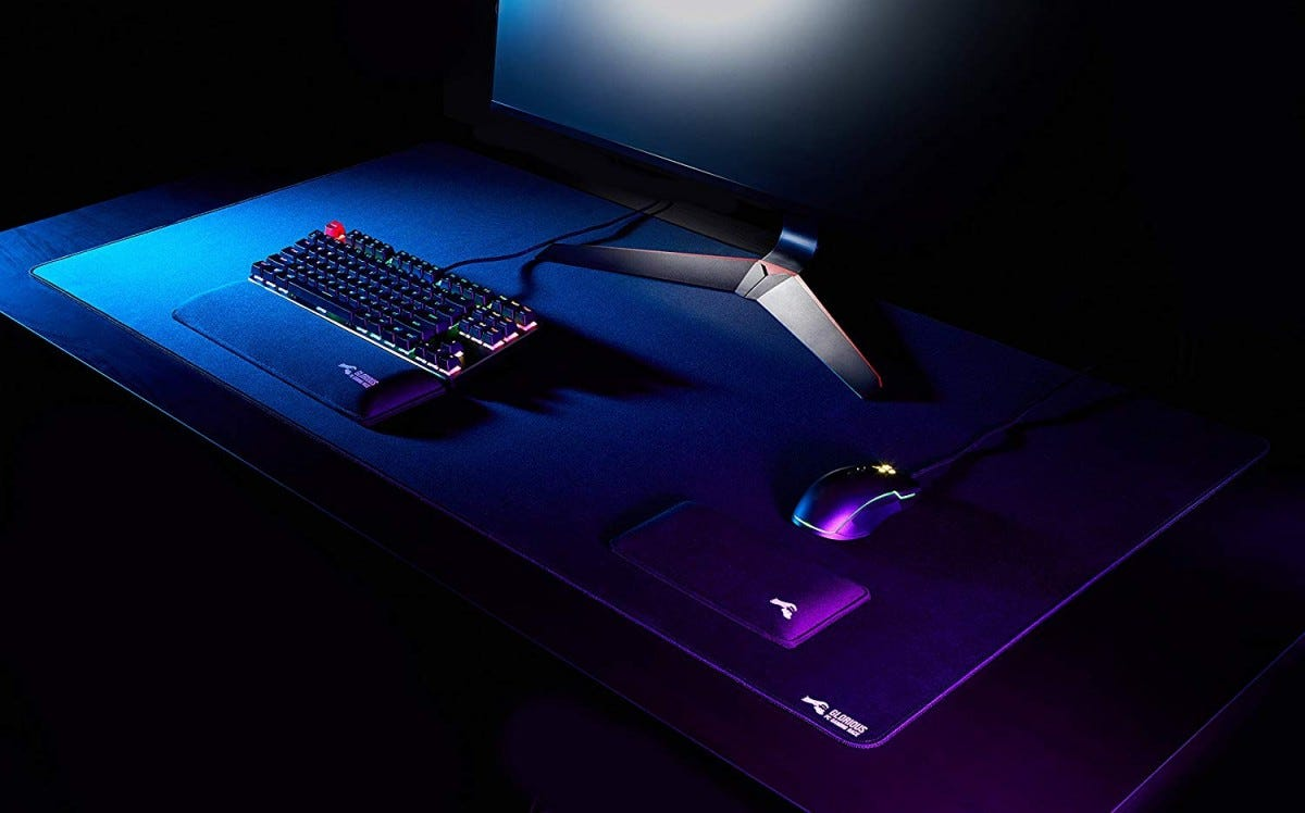 glorious, mouse pad, desk mat, oversized,