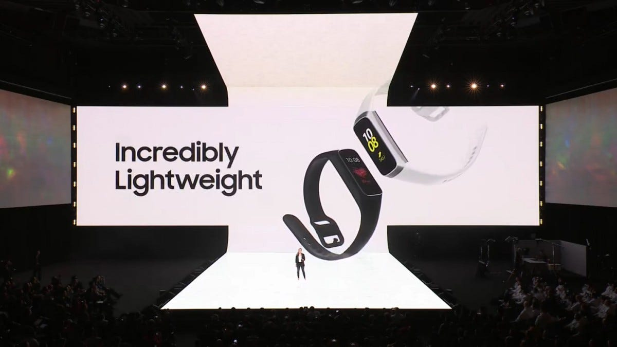 Galaxy Fit device