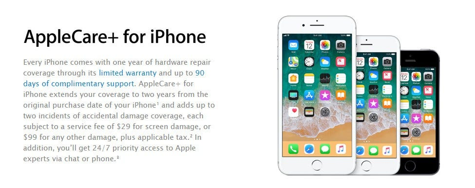 Worried About Breaking Your New iPhone? Get AppleCare, Not