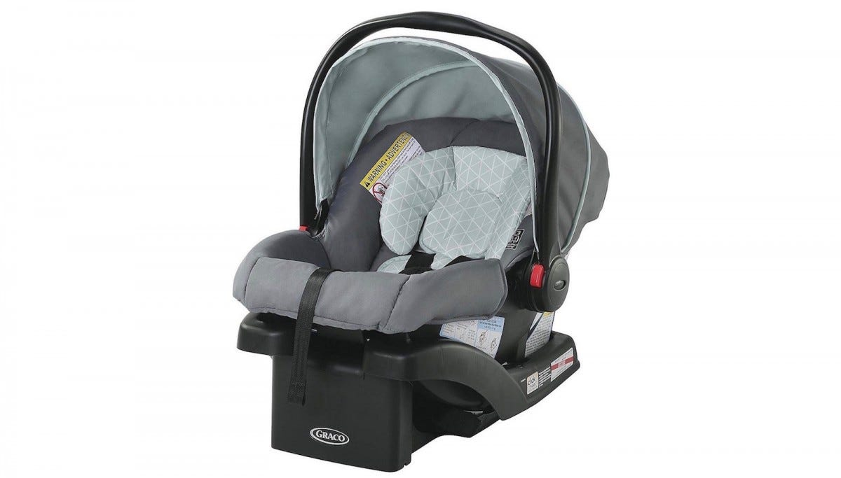 The Graco Snugride Click Connect Car Seat.