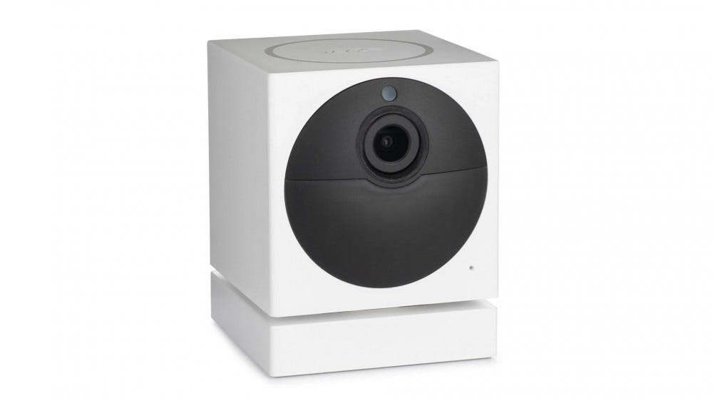 A photo of the excellent Wyze Cam Outdoor camera.