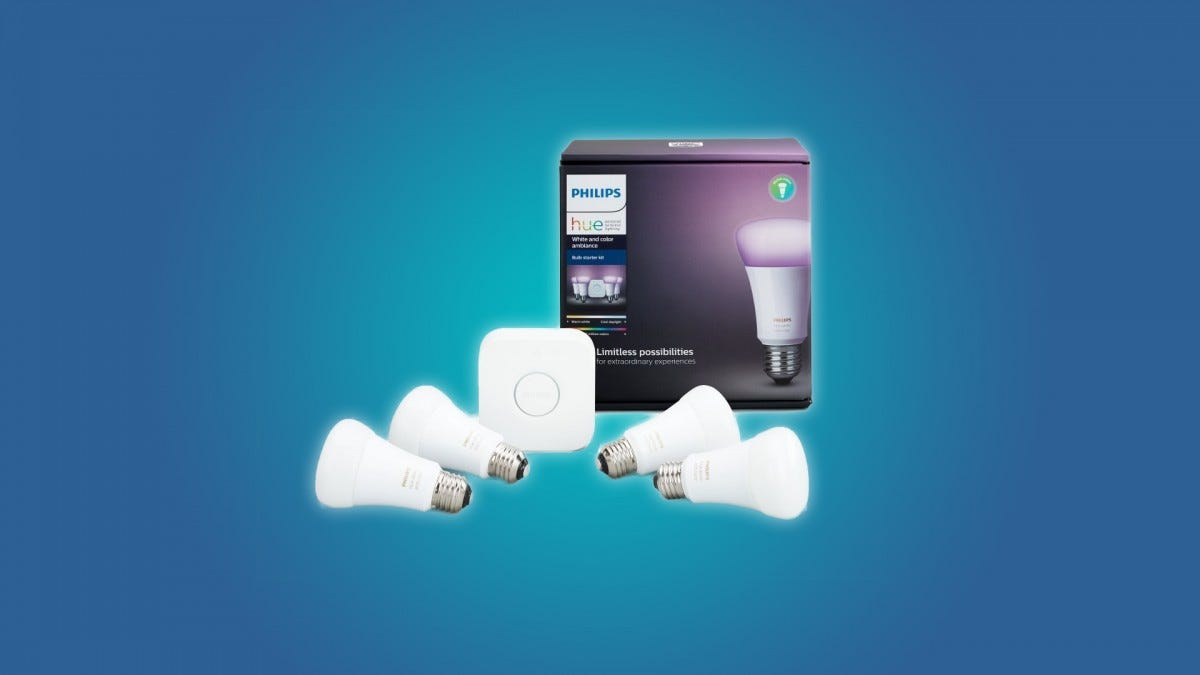 The Philips Hue Color Starter Kit
