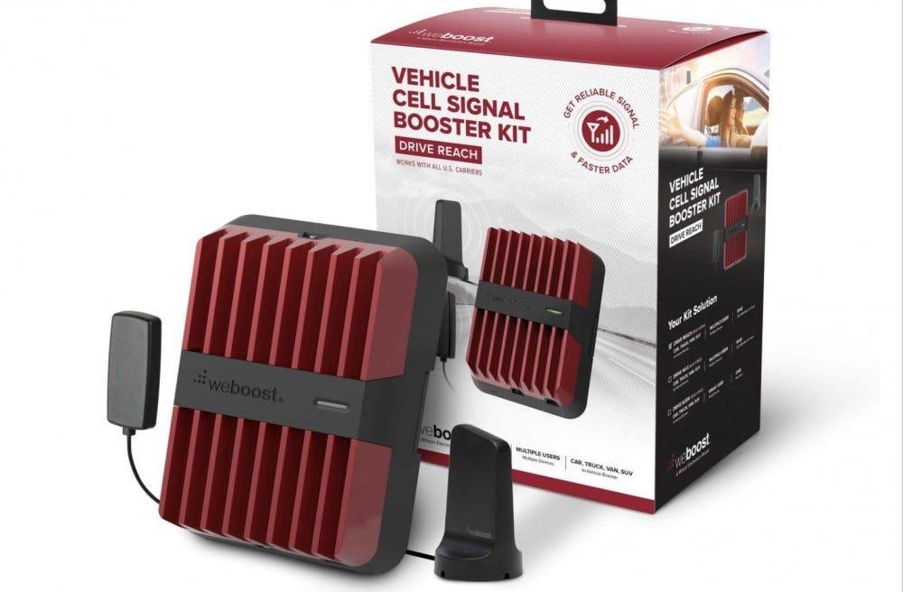 Car signal booster