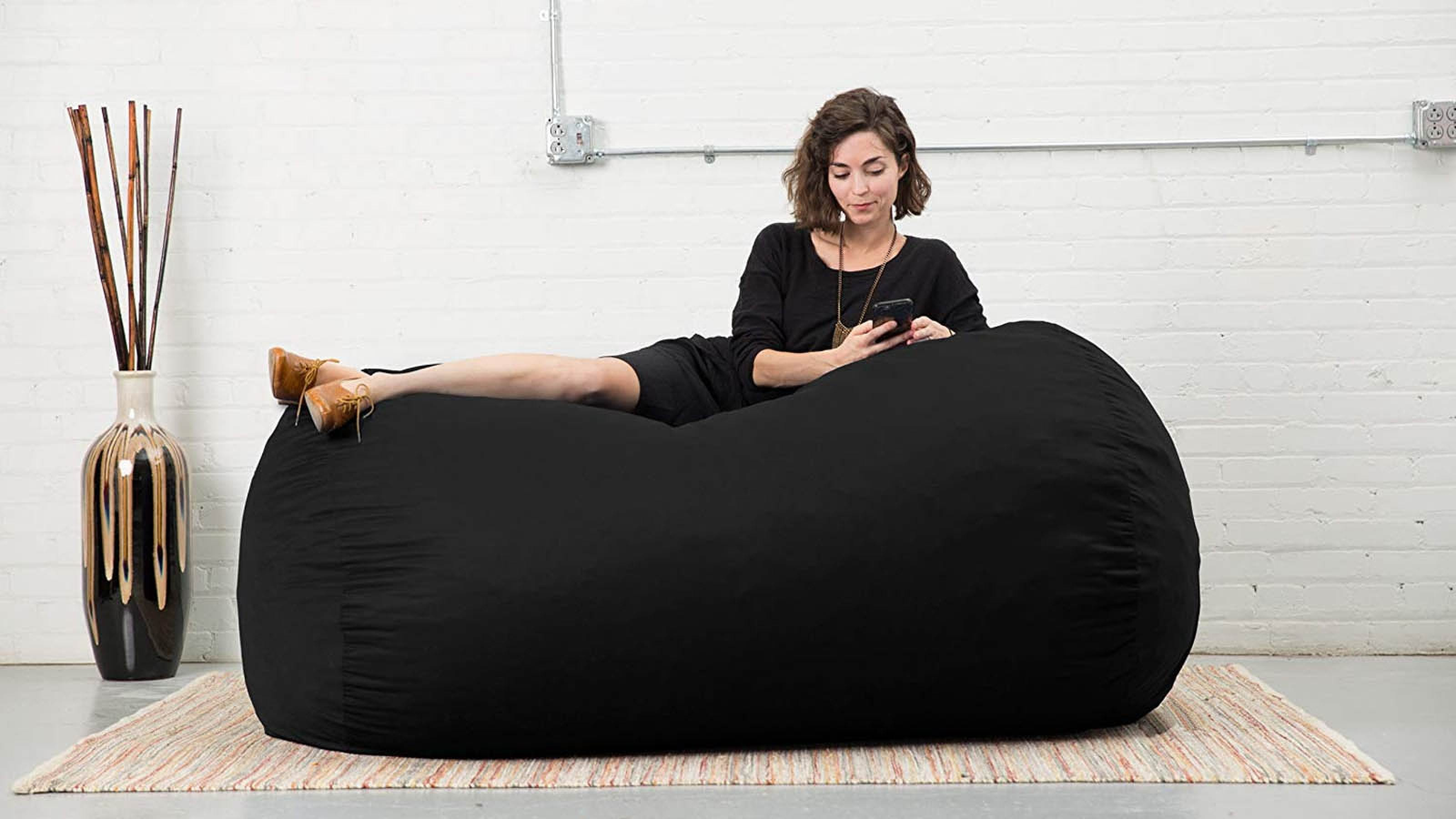 Fine The Best Large Bean Bag Chairs For Your Rec Room Dorm Room Gmtry Best Dining Table And Chair Ideas Images Gmtryco