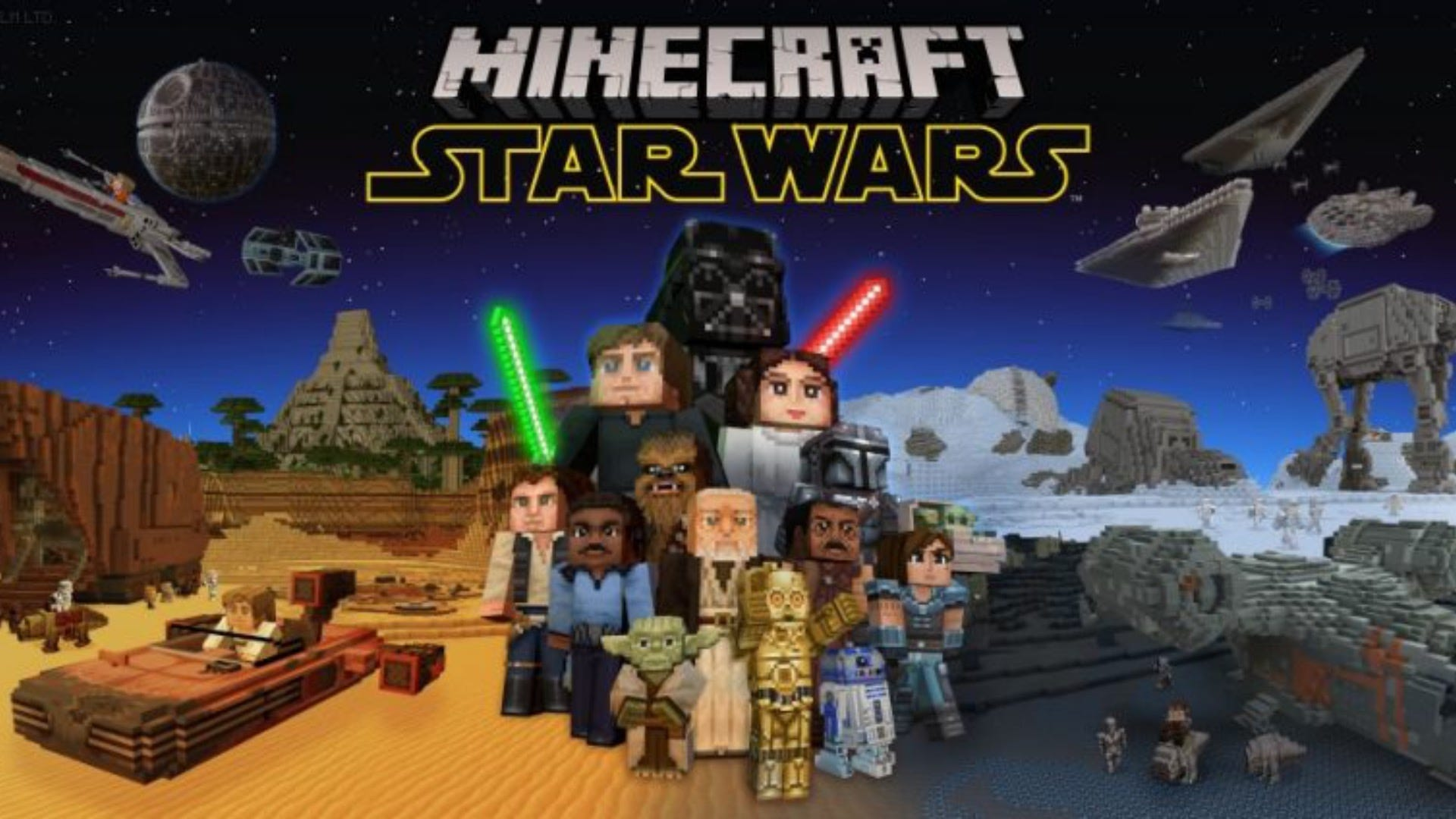 Get Your Light Sabers Out A New Star Wars Dlc Is Available In Minecraft Review Geek