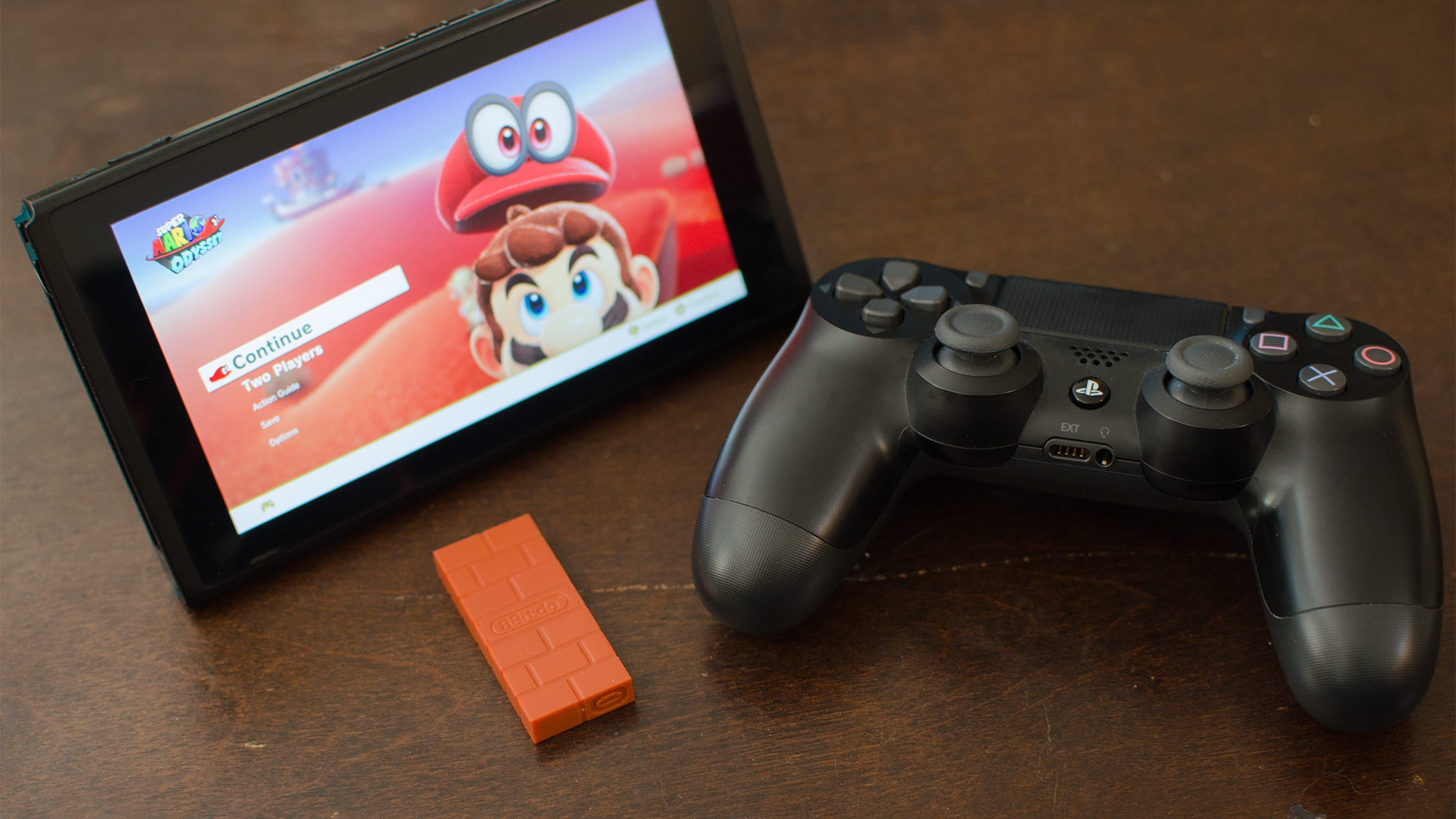 8Bitdo Bluetooth Adapter Review: The PS4 Controller Feels