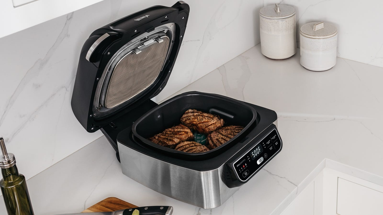 ninja foodi air fryer steak cooking chart