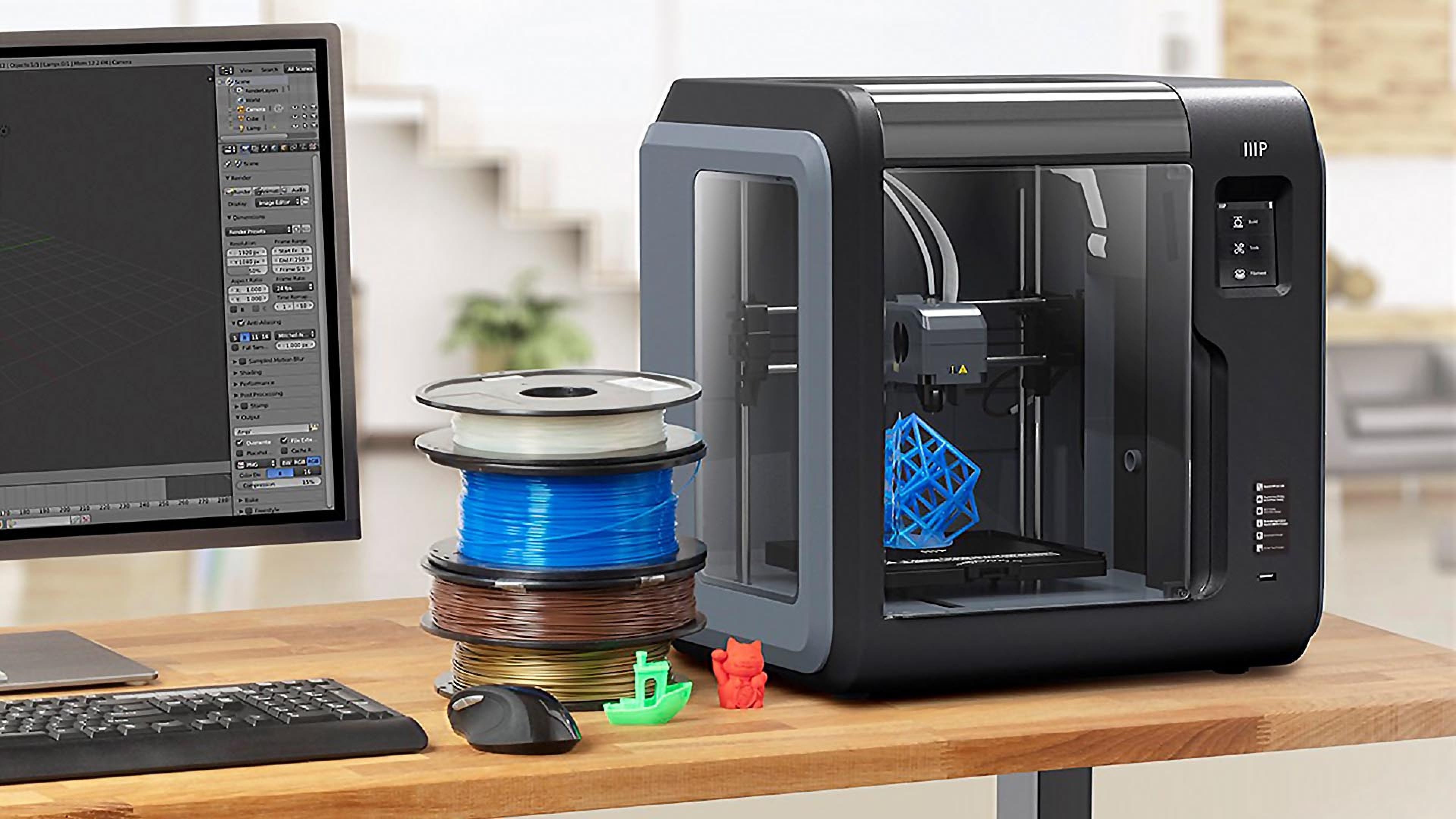Monoprice Voxel 3D Printer: An Affordable Entry to Serious