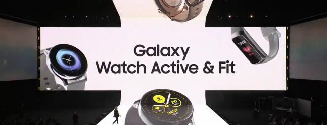 Samsung kündigt Galaxy Watch Active und Galaxy Fit an