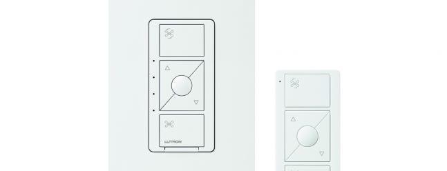 Lutron fügt seiner Caseta-Aufstellung einen intelligenten Schalter für die Lüftersteuerung hinzu