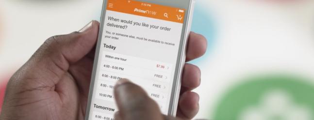 Amazon Prime Now liefert vollständige Lebensmittel Lebensmittel für Ihr Haus bald