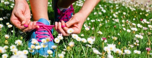 Das wesentliche Laufzubehör für den Frühling
