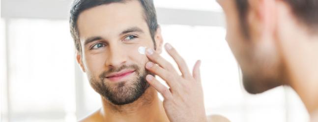 Fünf der besten Feuchtigkeitscremes für Männer mit einem Lichtschutzfaktor