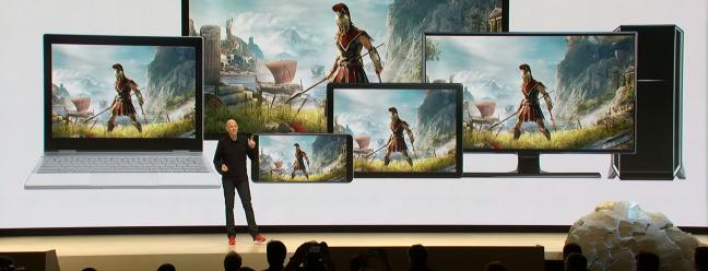 Die Stadia Streaming-Plattform von Google ist eine umfassende Invasion von Spielen