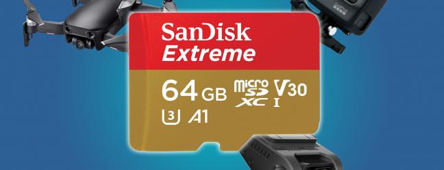 Die besten MicroSD-Karten für Drohnen, Dash Cams und Action Cams
