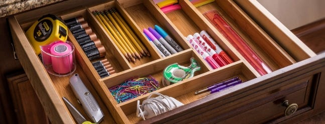 The Best Drawer Organizers For Reclaiming Storage Space Review Geek