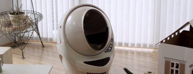 Meine dummen Katzen benutzen diesen $ 450 Abfall-Roboter nicht, aber vielleicht wird Ihr
