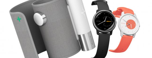 Withings kündigt Move Hybrid Watch mit EKG-Tracking sowie eine Bluetooth-Blutdruckmanschette an