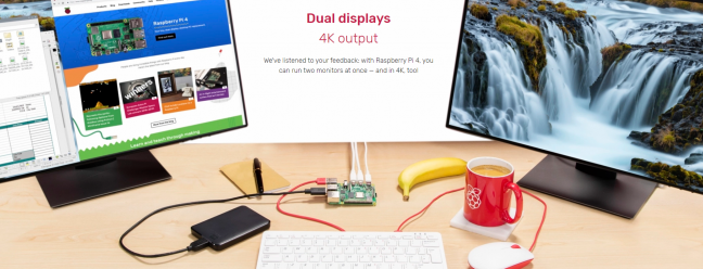 Das $ 120 Raspberry Pi 4 Desktop Kit ist ein kleines Kraftpaket