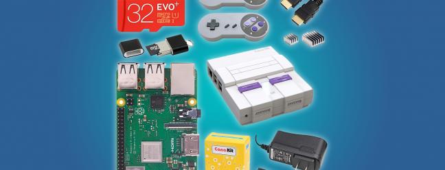 Deal Alert: Raspberry Pi 3 B - Ultimate Starter Kit oder Super Retro Gaming Kit für 70 US-Dollar