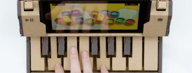 Nintendo wird einen Karton Piano and Mech Suit verkaufen, um Ihre Kindheit Träume